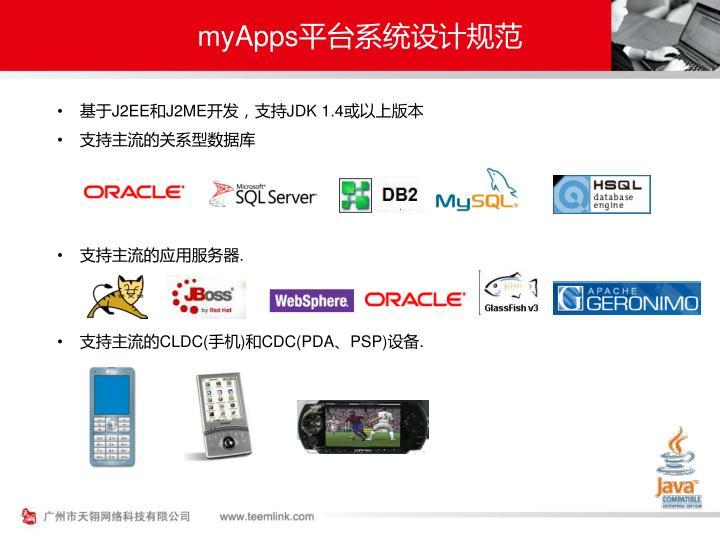 myApps平台系统