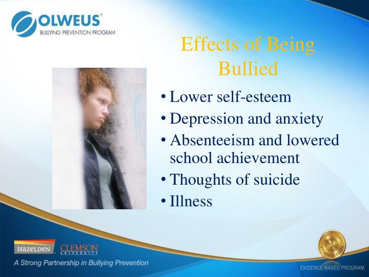 Effects of Being Bullied