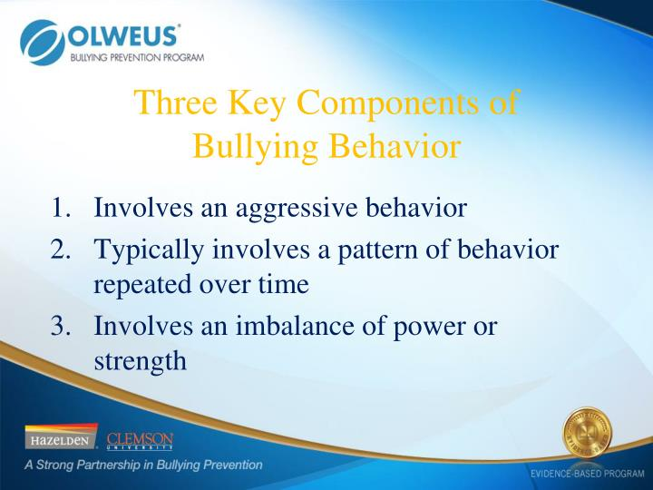 Three Key Components of