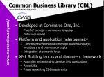common business library cbl www marketsite net xml