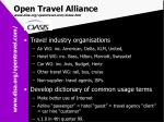 open travel alliance www disa org opentravel com index htm