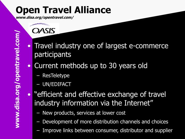 Open Travel Alliance