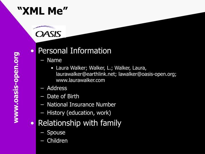 """XML Me"""