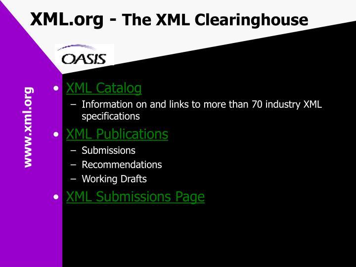 XML.org -