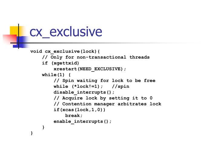 cx_exclusive
