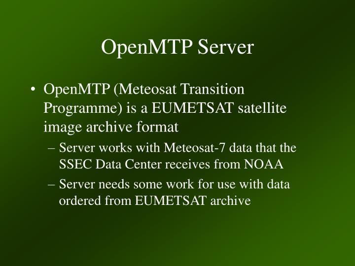 OpenMTP Server