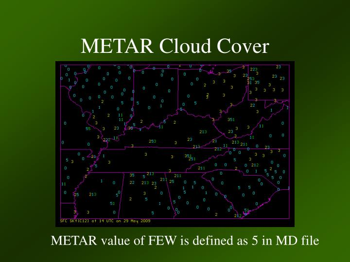 METAR Cloud Cover