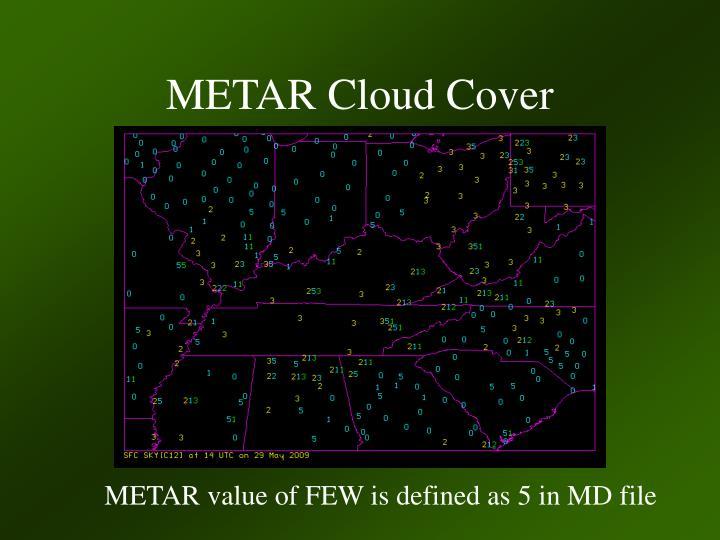 METAR Cloud Cover