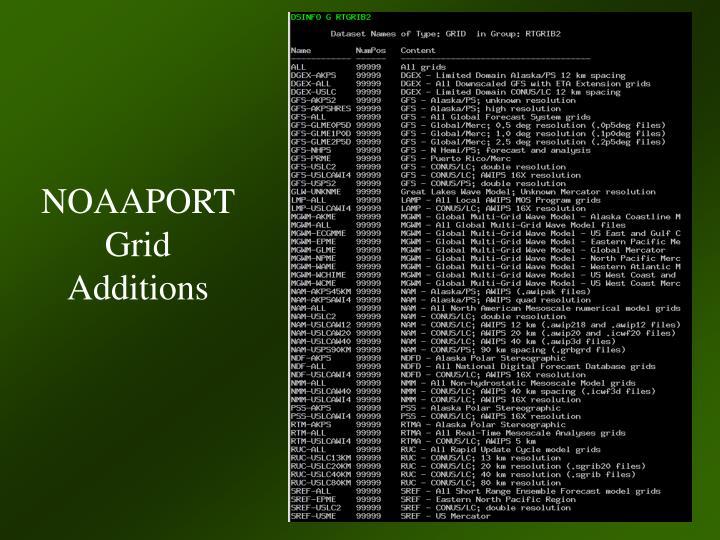 NOAAPORT Grid Additions