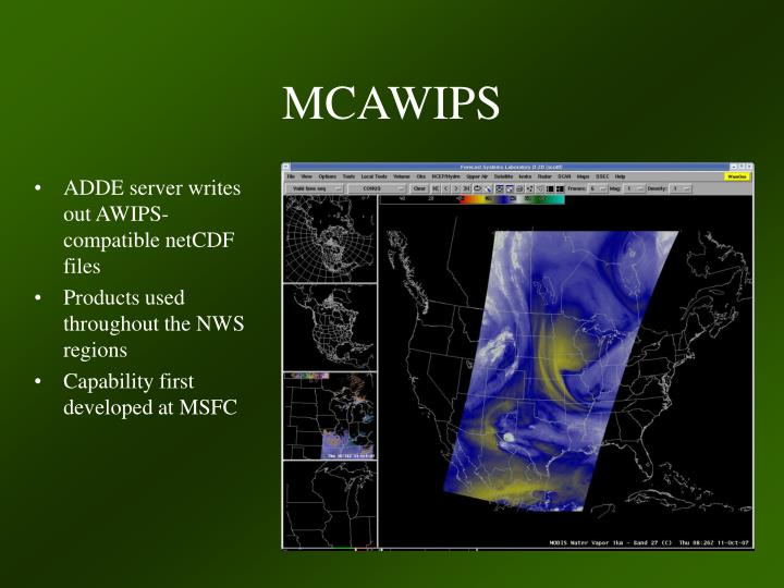 MCAWIPS