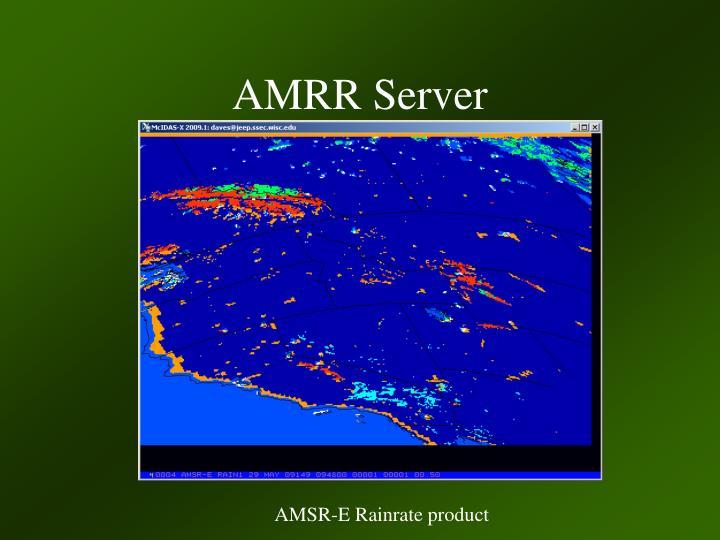 AMRR Server