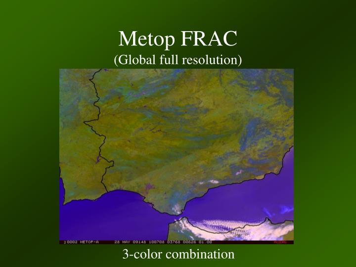 Metop FRAC