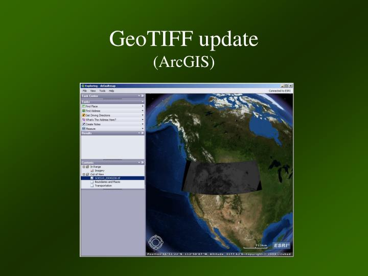 GeoTIFF update