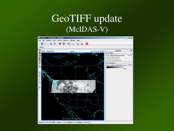 GeoTIFF update