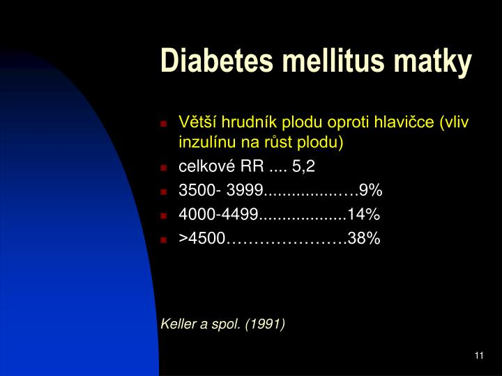 Diabetes mellitus matky