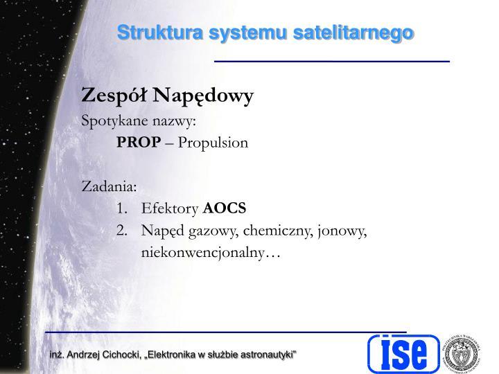 Struktura systemu satelitarnego