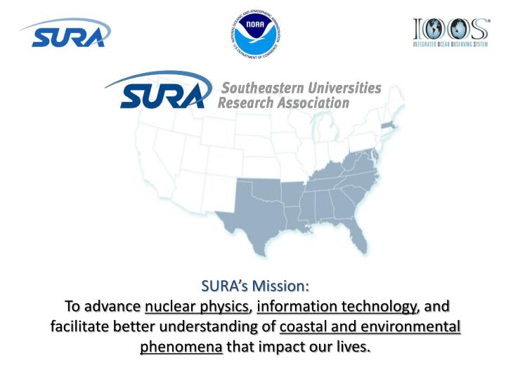 SURA's Mission: