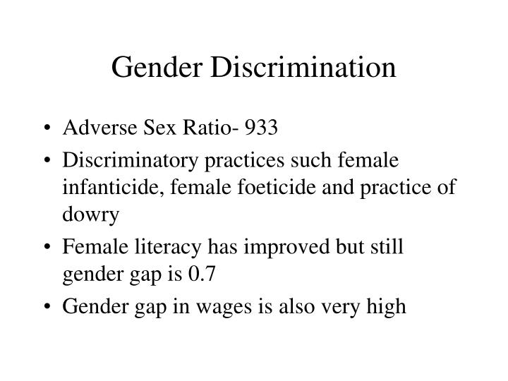 Gender Discrimination