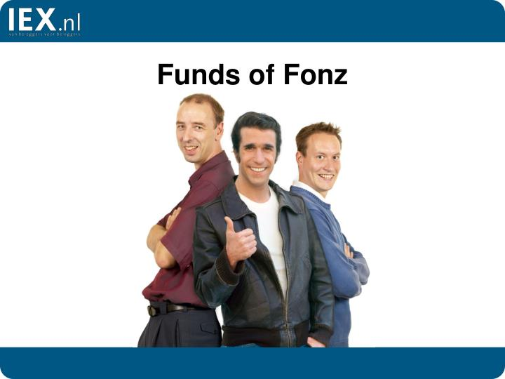 Funds of fonz