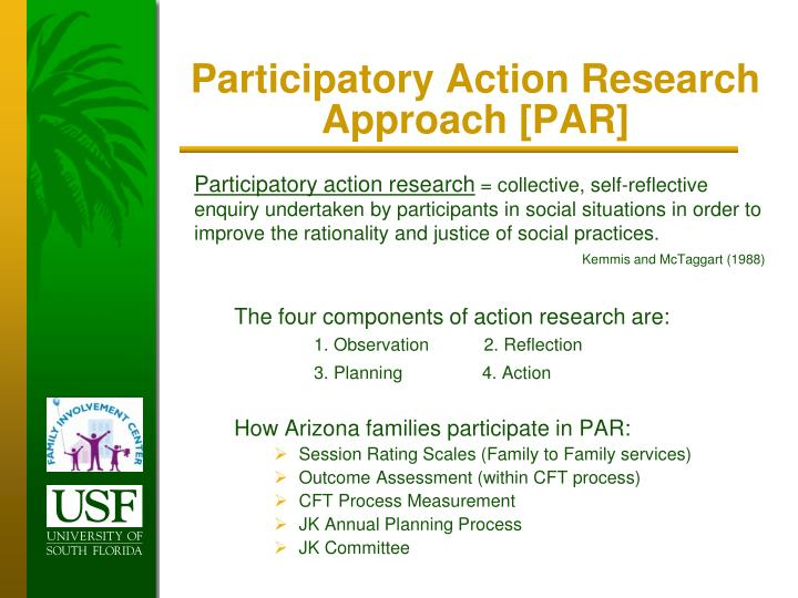 Participatory Action Research Approach [PAR]