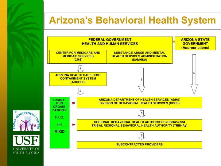 Arizona's Behavioral Health System