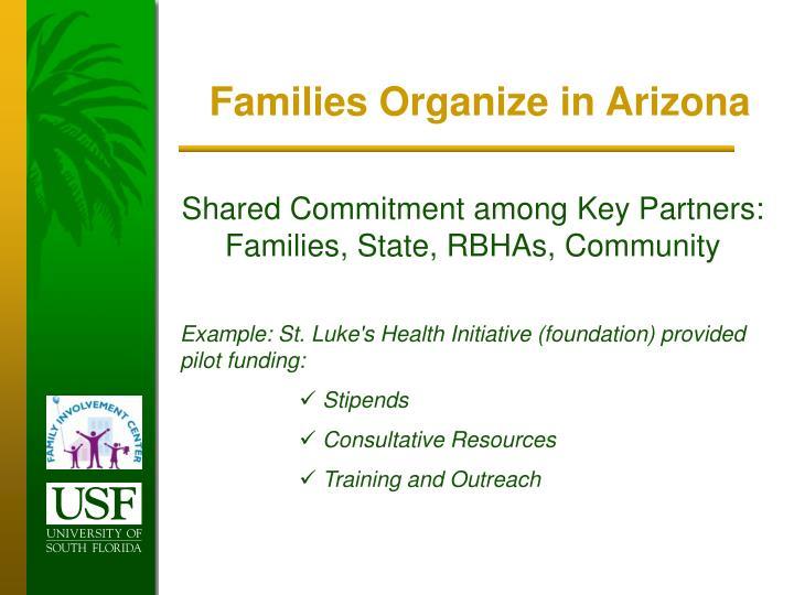 Families Organize in Arizona