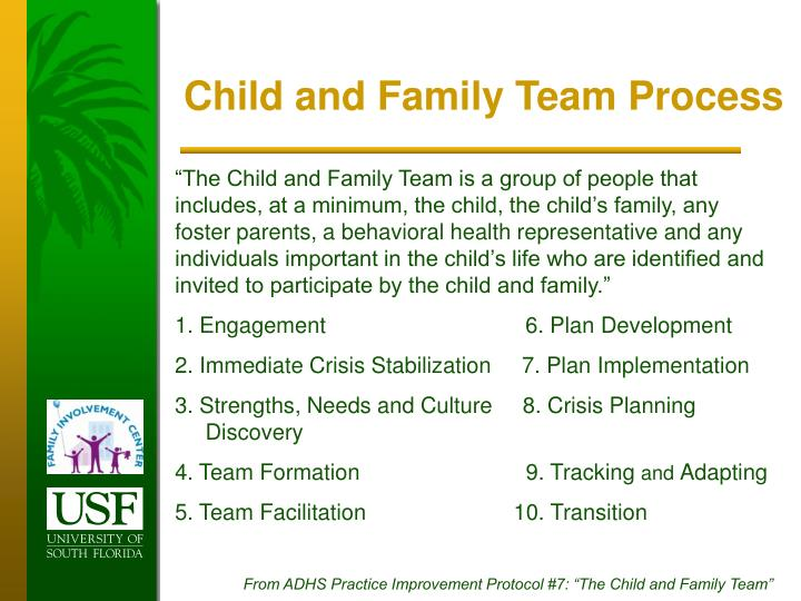 Child and Family Team Process