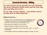covered services billing1