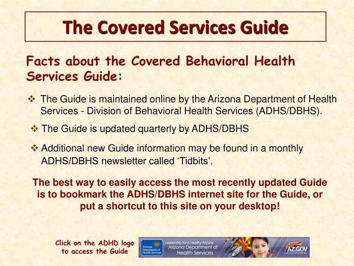 Facts about the Covered Behavioral Health