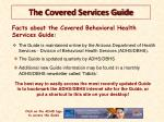 the covered services guide