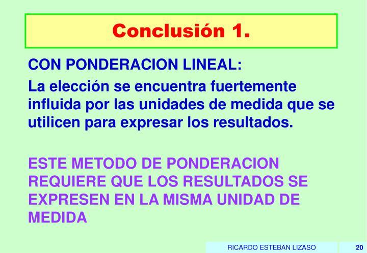 Conclusión 1.