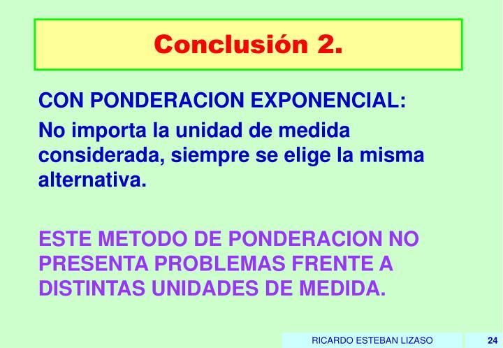 Conclusión 2.