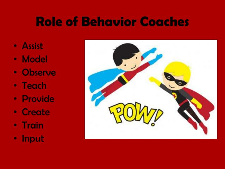 Role of Behavior