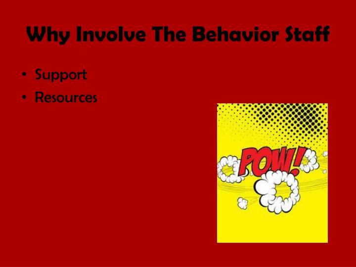 Why Involve