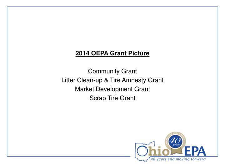 2014 OEPA Grant Picture