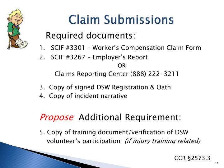 Claim Submissions