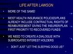 life after lawson