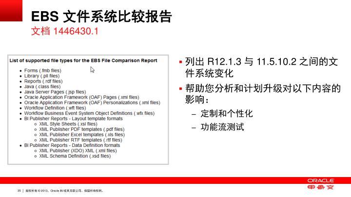 EBS 文件系统比较报告