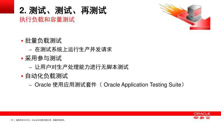 2. 测试、测试、再测试