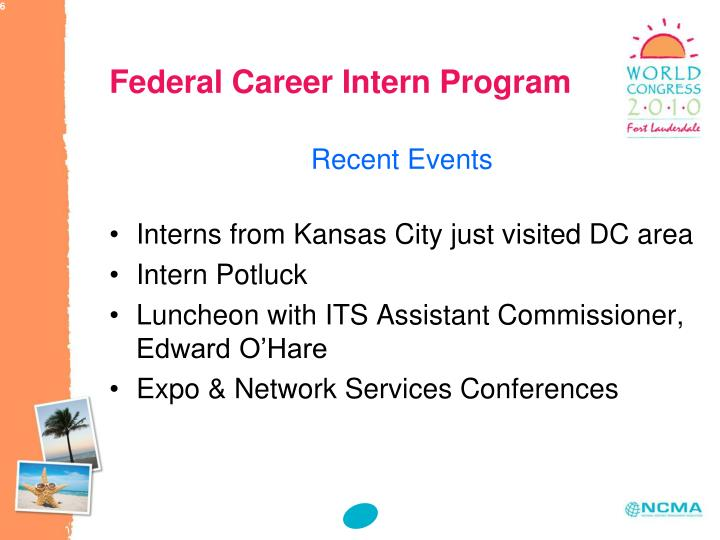 Federal Career Intern Program