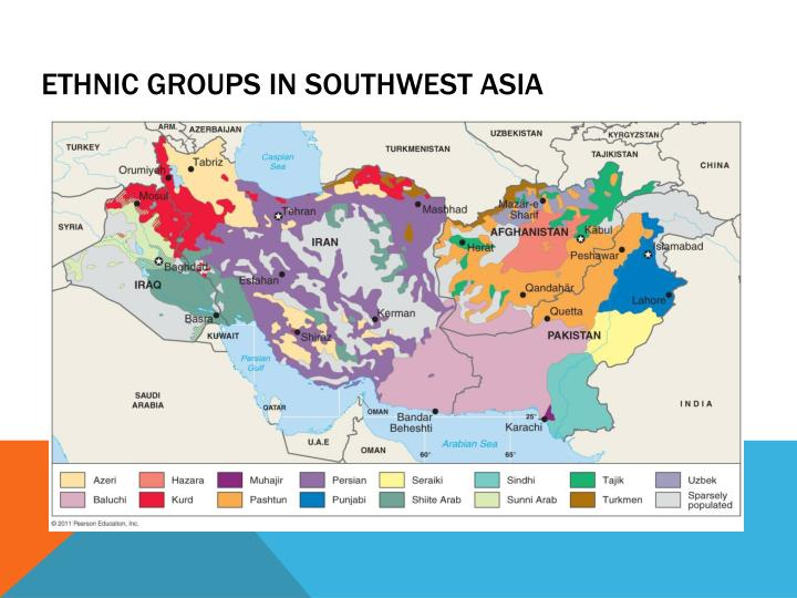 Ethnic Groups in Southwest Asia