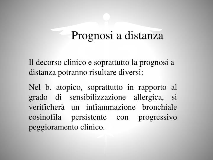 Prognosi a distanza