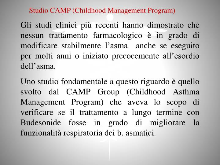 Studio CAMP (Childhood Management Program)