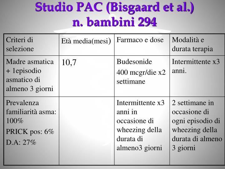Studio PAC (Bisgaard et al.)
