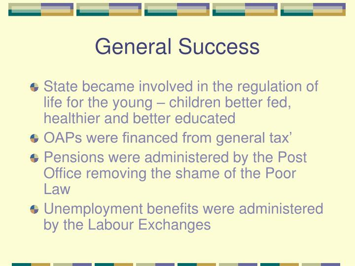 General Success