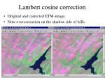 lambert cosine correction1