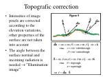 topografic correction1