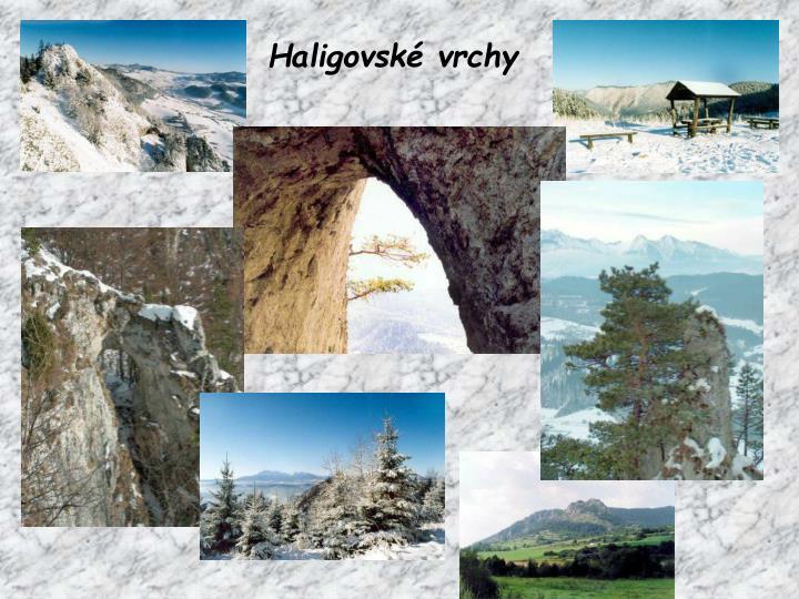 Haligovské vrchy