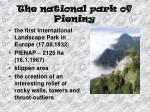 the national park of pieniny