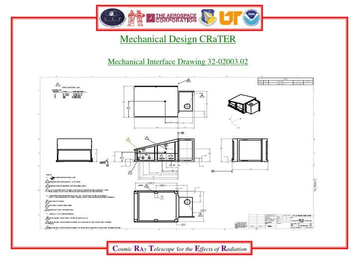 Mechanical Design CRaTER